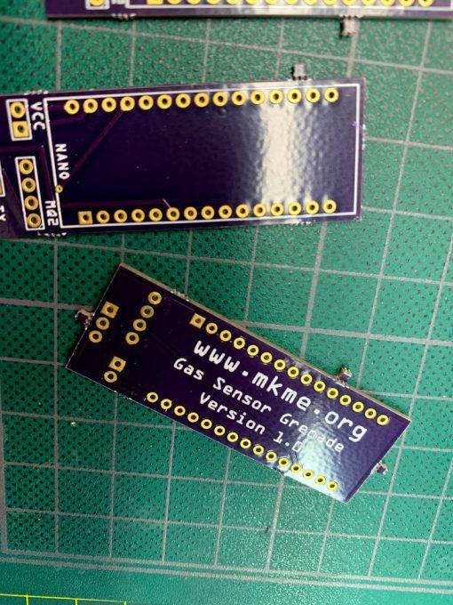mkme.org Gas sensor for emergency workers