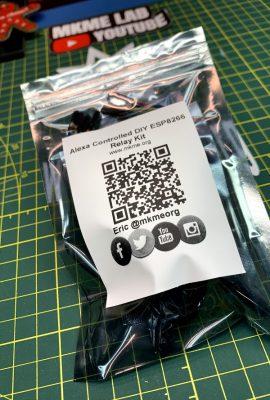 MKME.ORG Wemos ESP8266 Alexa Relay DIY Kit